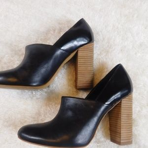 Kate Spade Saturday  bootie with stacked heel